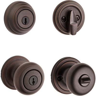 Image for Hancock Security Set - Deadbolt Keyed One Side