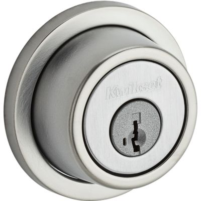 Image for Contemporary Round Deadbolt - Keyed Both Sides