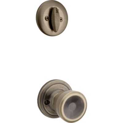 Abbey and Deadbolt Interior Pack - Deadbolt Keyed One Side - for Kwikset Series 687 Handlesets