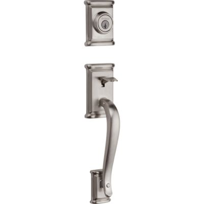 Ashfield Handleset - Deadbolt Keyed Both Sides (Exterior Only) - featuring SmartKey