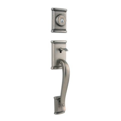Image for Ashfield Handleset with Ashfield Lever - Deadbolt Keyed Both Sides - featuring SmartKey