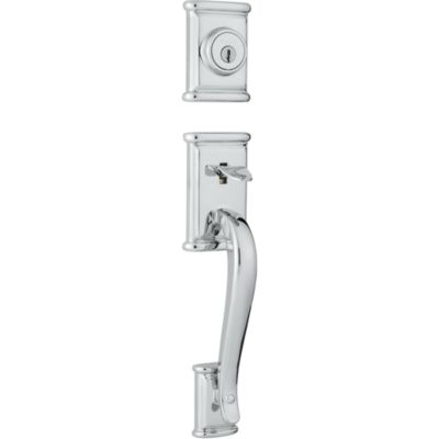 Image for Ashfield Handleset - Deadbolt Keyed One Side (Exterior Only) - with Pin & Tumbler