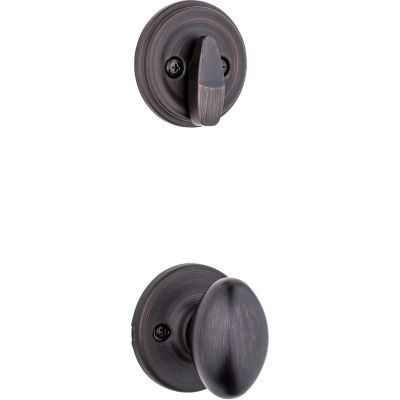 Aliso and Deadbolt Interior Pack - Deadbolt Keyed One Side - for Signature Series 800 and 814 Handlesets