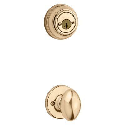 Aliso and Deadbolt Interior Pack - Deadbolt Keyed Both Sides - featuring SmartKey - for Signature Series 801 Handlesets