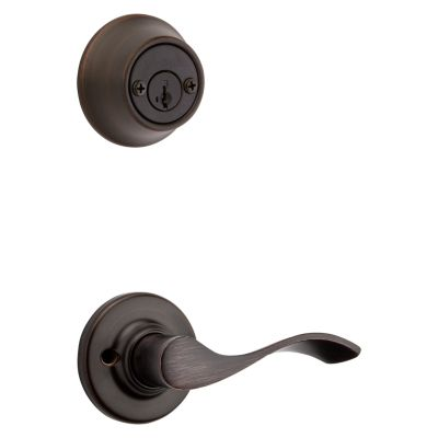 Balboa and Deadbolt Interior Pack - Left Handed - Deadbolt Keyed Both Sides - featuring SmartKey - for Kwikset Series 689 Handlesets