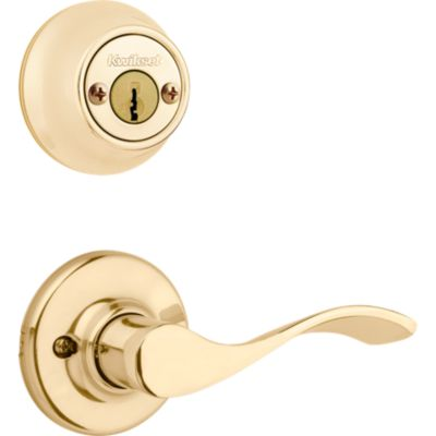 Image for Balboa and Deadbolt Interior Pack - Left Handed - Deadbolt Keyed Both Sides - featuring SmartKey - for Kwikset Series 689 Handlesets