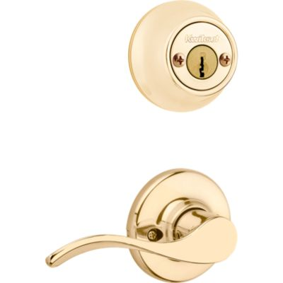 Image for Balboa and Deadbolt Interior Pack - Right Handed - Deadbolt Keyed Both Sides - featuring SmartKey - for Kwikset Series 689 Handlesets