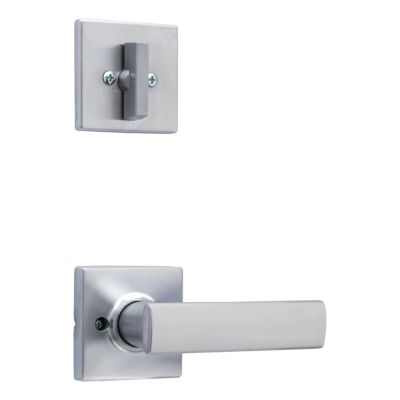 Breton and Deadbolt Interior Pack (Square) - Deadbolt Keyed One Side - for Signature Series 814 and 818 Handlesets