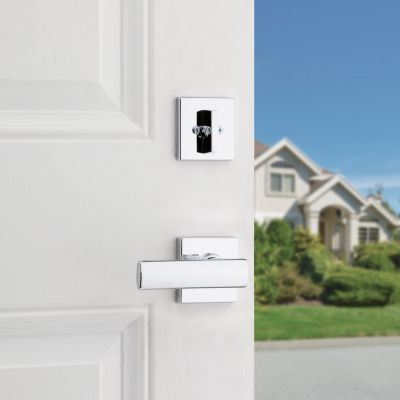 Breton and Deadbolt Interior Pack (Square) - Deadbolt Keyed One Side - for Kwikset Series 687 Handlesets