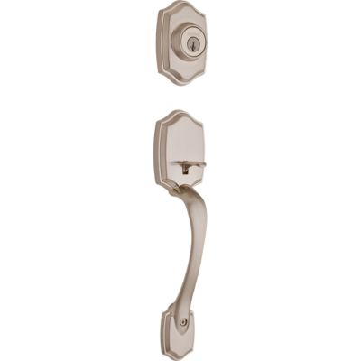 Image for Belleview Handleset - Deadbolt Keyed One Side (Exterior Only) - featuring SmartKey
