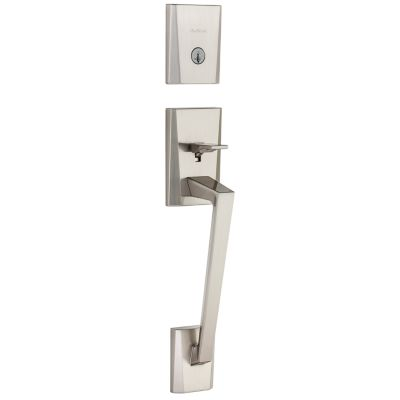 Camino Handleset - Deadbolt Keyed One Side (Exterior Only) - featuring SmartKey