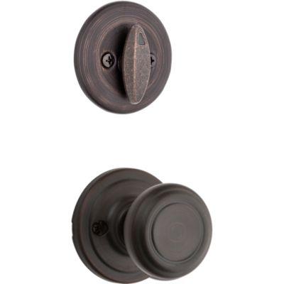 Image for Cameron and Deadbolt Interior Pack - Deadbolt Keyed One Side - for Kwikset Series 687 Handlesets