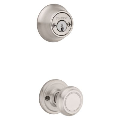 Cameron and Deadbolt Interior Pack - Deadbolt Keyed Both Sides - with Pin & Tumbler - for Kwikset Series 689 Handlesets