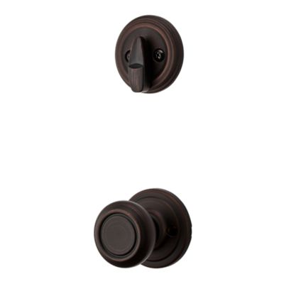 Image for Cameron and Deadbolt Interior Pack - Deadbolt Keyed One Side - for Signature Series 800 and 814 Handlesets