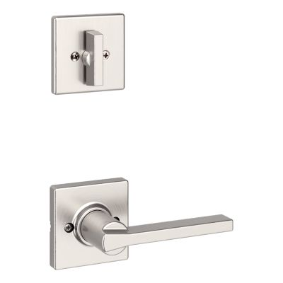 Image for Casey and Deadbolt Interior Pack (Square) - Deadbolt Keyed One Side - for Signature Series 814 and 818 Handlesets
