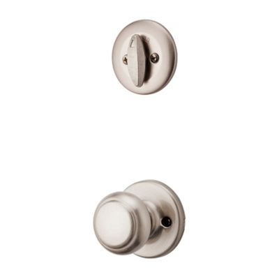 Cove and Deadbolt Interior Pack - Deadbolt Keyed One Side - for Kwikset Series 687 Handlesets