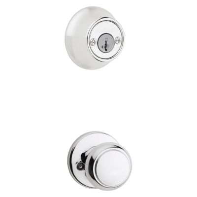 Image for Cove and Deadbolt Interior Pack - Deadbolt Keyed Both Sides - featuring SmartKey - for Kwikset Series 689 Handlesets