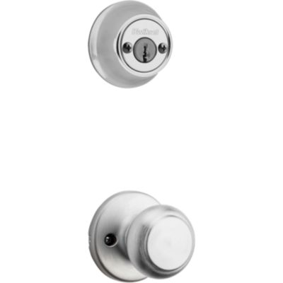Product Image for Cove and Deadbolt Interior Pack - Deadbolt Keyed Both Sides - with Pin & Tumbler - for Kwikset Series 689 Handlesets