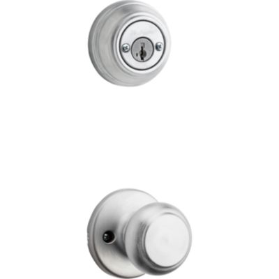 Cove and Deadbolt Interior Pack - Deadbolt Keyed Both Sides - featuring SmartKey - for Signature Series 801 Handlesets