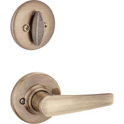Image for Delta and Deadbolt Interior Pack - Deadbolt Keyed One Side - for Kwikset Series 687 Handlesets