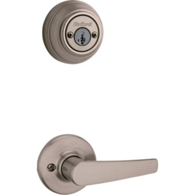 Product Image for Delta and Deadbolt Interior Pack - Deadbolt Keyed Both Sides - featuring SmartKey - for Signature Series 801 Handlesets