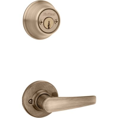 Image for Delta and Deadbolt Interior Pack - Deadbolt Keyed Both Sides - with Pin & Tumbler - for Kwikset Series 689 Handlesets