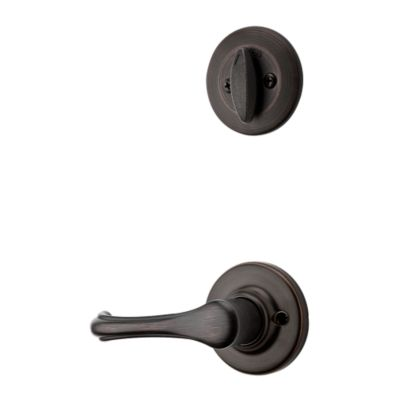 Dorian and Deadbolt Interior Pack - Deadbolt Keyed One Side - for Kwikset Series 687 Handlesets