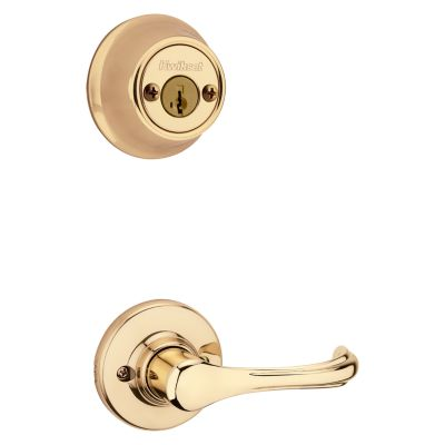 Product Image for Dorian and Deadbolt Interior Pack - Deadbolt Keyed Both Sides - featuring SmartKey - for Kwikset Series 689 Handlesets
