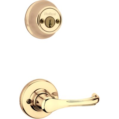 Image for Dorian and Deadbolt Interior Pack - Deadbolt Keyed Both Sides - with Pin & Tumbler - for Kwikset Series 689 Handlesets