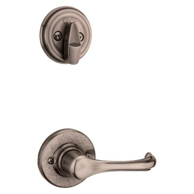 Product Image for Dorian and Deadbolt Interior Pack - Deadbolt Keyed One Side - for Signature Series 800 and 814 Handlesets