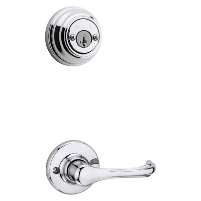 Dorian and Deadbolt Interior Pack - Deadbolt Keyed Both Sides - featuring SmartKey - for Signature Series 801 Handlesets