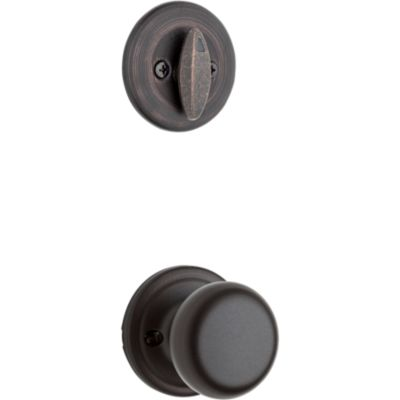 Product Image for Hancock and Deadbolt Interior Pack - Deadbolt Keyed One Side - for Kwikset Series 687 Handlesets