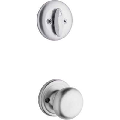 Hancock and Deadbolt Interior Pack - Deadbolt Keyed One Side - for Kwikset Series 687 Handlesets