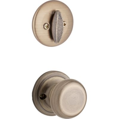 Image for Hancock and Deadbolt Interior Pack - Deadbolt Keyed One Side - for Kwikset Series 687 Handlesets