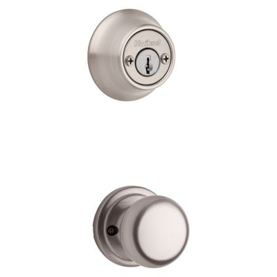 Product Image for Hancock and Deadbolt Interior Pack - Deadbolt Keyed Both Sides - with Pin & Tumbler - for Kwikset Series 689 Handlesets