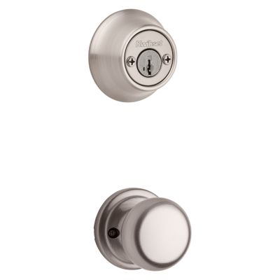 Product Image for Hancock and Deadbolt Interior Pack - Deadbolt Keyed Both Sides - featuring SmartKey - for Kwikset Series 689 Handlesets
