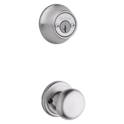 Hancock and Deadbolt Interior Pack - Deadbolt Keyed Both Sides - featuring SmartKey - for Kwikset Series 689 Handlesets