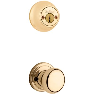 Image for Hancock and Deadbolt Interior Pack - Deadbolt Keyed Both Sides - with Pin & Tumbler - for Kwikset Series 689 Handlesets