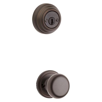 Hancock and Deadbolt Interior Pack - Deadbolt Keyed Both Sides - with Pin & Tumbler - for Signature Series 801 Handlesets