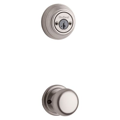 Image for Hancock and Deadbolt Interior Pack - Deadbolt Keyed Both Sides - featuring SmartKey - for Signature Series 801 Handlesets