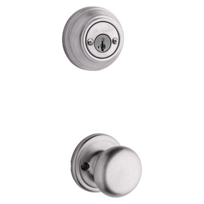 Hancock and Deadbolt Interior Pack - Deadbolt Keyed Both Sides - featuring SmartKey - for Signature Series 801 Handlesets