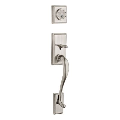 Image for Hawthorne Handleset - Deadbolt Keyed One Side (Exterior Only) - featuring SmartKey