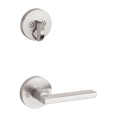 Image for Halifax and Deadbolt Interior Pack (Round) - Deadbolt Keyed One Side - for Signature Series 814 and 818 Handlesets