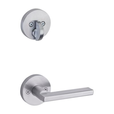 Halifax and Deadbolt Interior Pack (Round) - Deadbolt Keyed One Side - for Signature Series 814 and 818 Handlesets