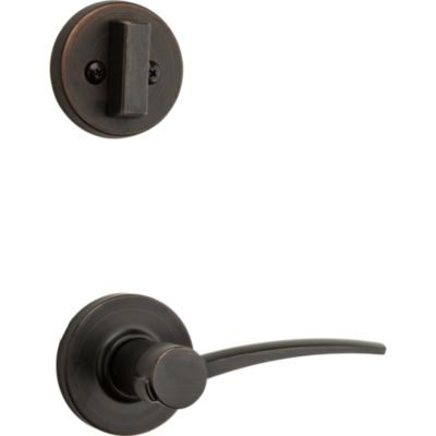 Image for Katara and Deadbolt Interior Pack - Left Handed (Round) - Deadbolt Keyed One Side - for Signature Series 800 and 814 Handlesets