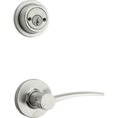 Katara and Deadbolt Interior Pack - Left Handed (Round) - Deadbolt Keyed Both Sides - featuring SmartKey - for Signature Series 801 Handlesets