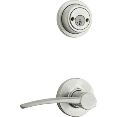 Katara and Deadbolt Interior Pack - Right Handed (Round) - Deadbolt Keyed Both Sides - featuring SmartKey - for Signature Series 801 Handlesets