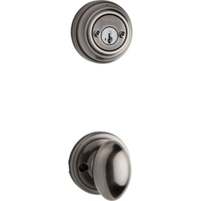 Laurel and Deadbolt Interior Pack - Deadbolt Keyed Both Sides - featuring SmartKey - for Signature Series 801 Handlesets