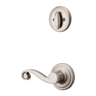 Product Image for Lido and Deadbolt Interior Pack - Right Handed - Deadbolt Keyed One Side - for Kwikset Series 687 Handlesets