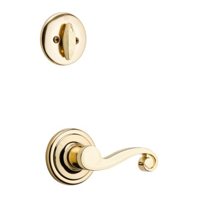 Product Image for Lido and Deadbolt Interior Pack - Left Handed - Deadbolt Keyed One Side - for Kwikset Series 687 Handlesets